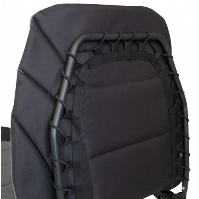 Eurotrail ligbed Royal 200 x 75 cm polyester antraciet/zwart
