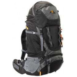 backpack Escape 55 liter nylon/polyester zwart/grijs
