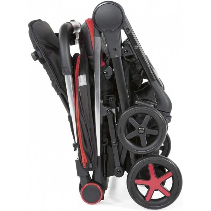 Chicco buggy Miinimo-3 104 cm polyester/aluminium zwart/rood