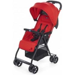 Chicco buggy Ohlala-2 101 cm polyester/aluminium rood/zwart