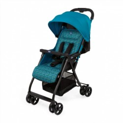 buggy Ohlala-2 Digital 101 cm polyester/aluminium blauw