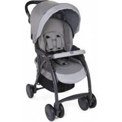Chicco buggy Simplicity Top 102 cm polyester/aluminium grijs/zwart