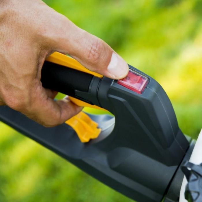 heggenschaar SHT 675 K benzine 630W 127 cm zwart/geel