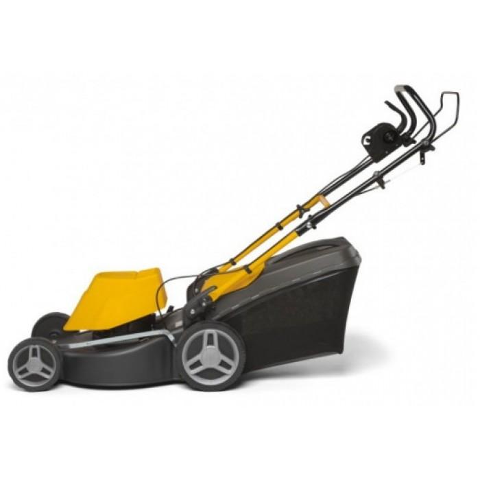 grasmaaier Combi 48 ES elektrisch 1800W staal geel/zwart