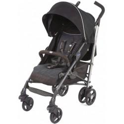 buggy Lite Way 3 aluminium 105 cm grijs/bruin/zwart