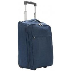 trolley opvouwbaar 40 liter polyester blauw