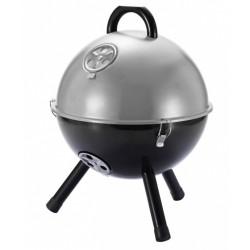 XD Collection barbecue 32 x 32 cm ijzer grijs/zwart