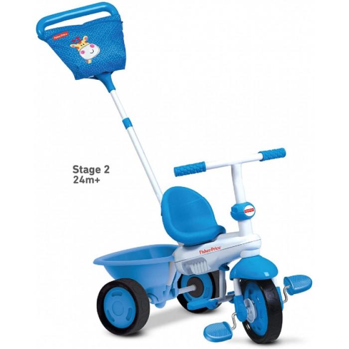 3-in-1-driewieler Elite Junior Wit/Blauw