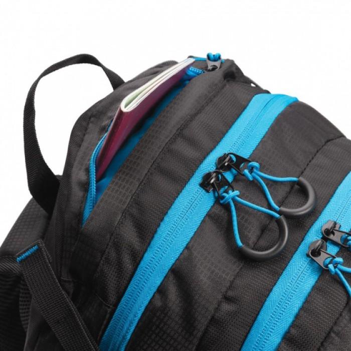 backpack Explorer medium PE zwart 26L