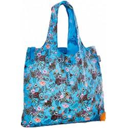 shopper 50 x 20 cm polyester blauw