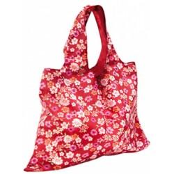 shopper 50 x 20 cm polyester rood