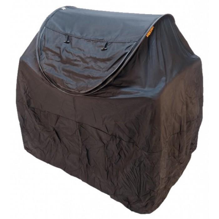 Deryan bescherming campingbed junior 120 cm katoen zwart