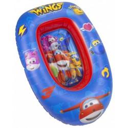 opblaasboot Super Wings jongens 90 cm PVC blauw