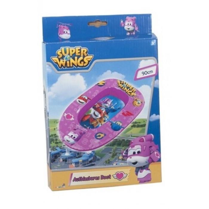 opblaasboot Super Wings meisjes 90 cm PVC roze
