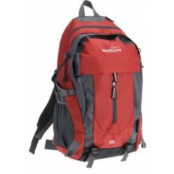 backpack 30 liter 52 x 34 cm polyester rood