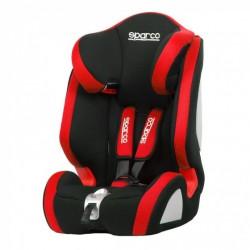 Sparco autostoel F1000K (E4-R44) junior polyester/textiel rood