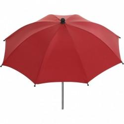 Interbaby parasol Lisa kinderwagen 50 cm polyester rood