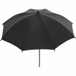 Interbaby parasol Lisa kinderwagen 50 cm polyester zwart