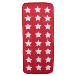 Gamberritos inlegkussen universeel ster 74 cm polyester rood