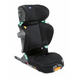Chicco autostoel Fold & Go I-Size groep 2-3 polykatoen zwart