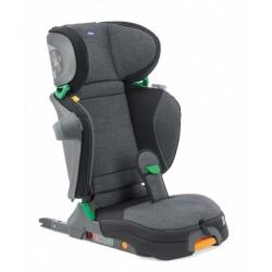 Chicco autostoel Fold & Go I-Size groep 2-3 polykatoen grijs