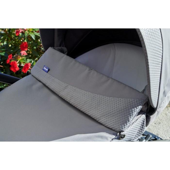 Chicco kinderwagen Trio Love Up 95 cm polyester grijs 3-delig