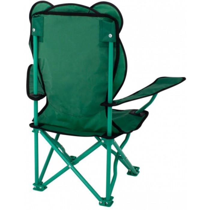 Eurotrail campingstoel Ardeche Animal junior polyester groen