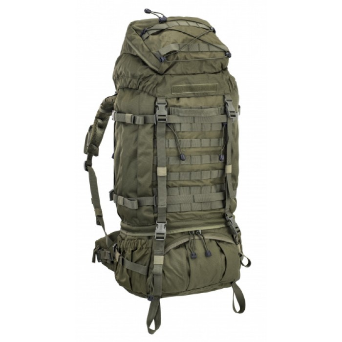 backpack 100 liter 75 x 35 x 30 cm polyester groen