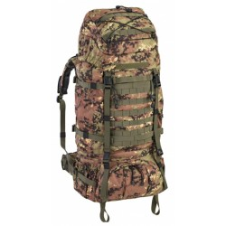 backpack 100 liter 75 x 35 x 30 cm polyester legergroen