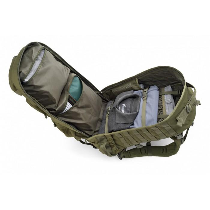 backpack Ares 50 liter 60 x 43 x 37 cm polyester kaki