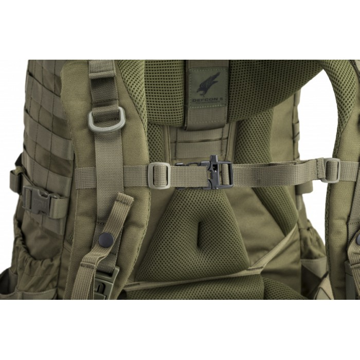 backpack Ares 50 liter 60 x 43 x 37 cm polyester groen