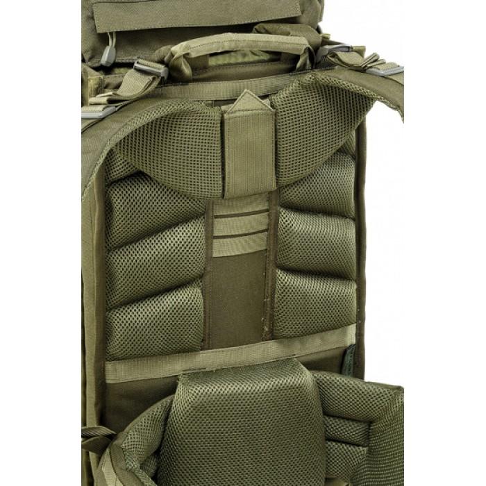 backpack Battle 45 liter 57 x 28 x 28 cm polyester legergroen