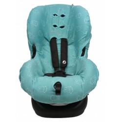 Nijntje autostoelhoes 1+ junior katoen blauw