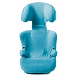 autostoelhoes 2/3+ junior katoen turquoise