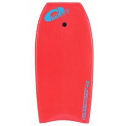 bodyboard Stripe 106 cm foam rood