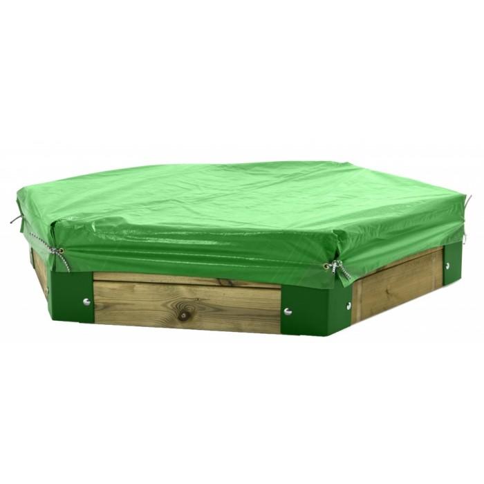 Hörby Bruk afdekhoes voor zandbak 150 van Hörby Bruk groen