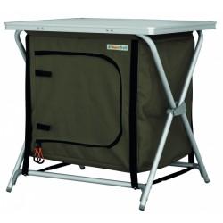 Eurotrail campingkast Rieux 60 x 50 x 60 cm aluminium antraciet