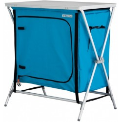Eurotrail campingkast St. Barts 72 x 50 cm polyester blauw
