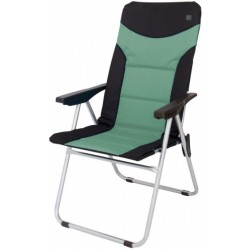 Eurotrail campingstoel Brasil 48 x 103 cm polyester zwart/groen