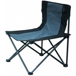 campingstoel Millon 53 x 43 x 60 cm staal grijs/zwart