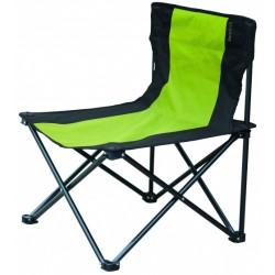 Eurotrail campingstoel Millon 53 x 43 x 60 cm staal groen/zwart
