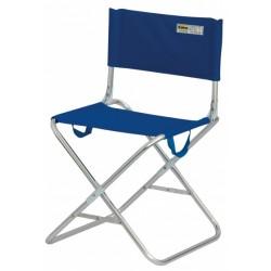 Eurotrail campingstoel Sintra 70 x 50 x 45 cm aluminium blauw