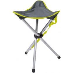 Happy People campingstoel Tripod 47 cm grijs
