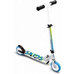 Skids Control Junior Voetrem Wit/Blauw