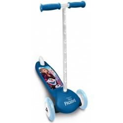 Disney Frozen 3-wiel kinderstep Meisjes Voetrem Blauw