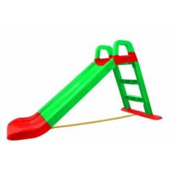 glijbaan 145 x 59 x 79 cm groen/rood