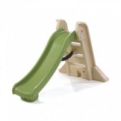 glijbaan Big Fold 162 cm groen/bruin