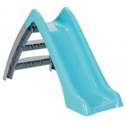 glijbaan Happy Slide junior 123 x 60 cm turquoise/grijs