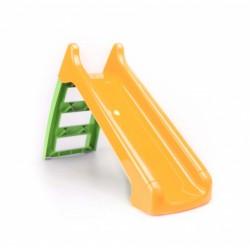 glijbaan oranje/groen 133,8 cm