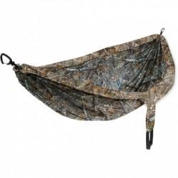 hangmat Doublenest 2,8 x 1,9 m nylon camouflage 4-delig